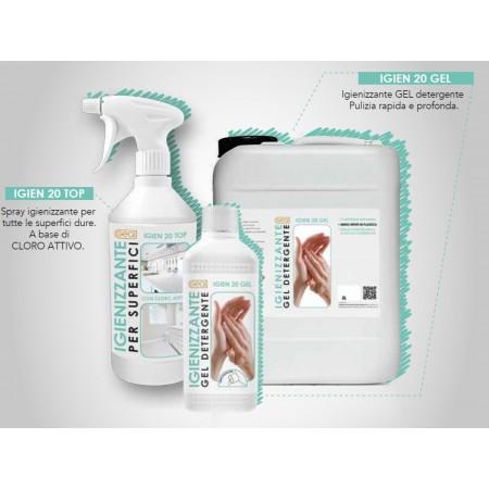 Gel igienizzante Igien 20 gel 0,5 l