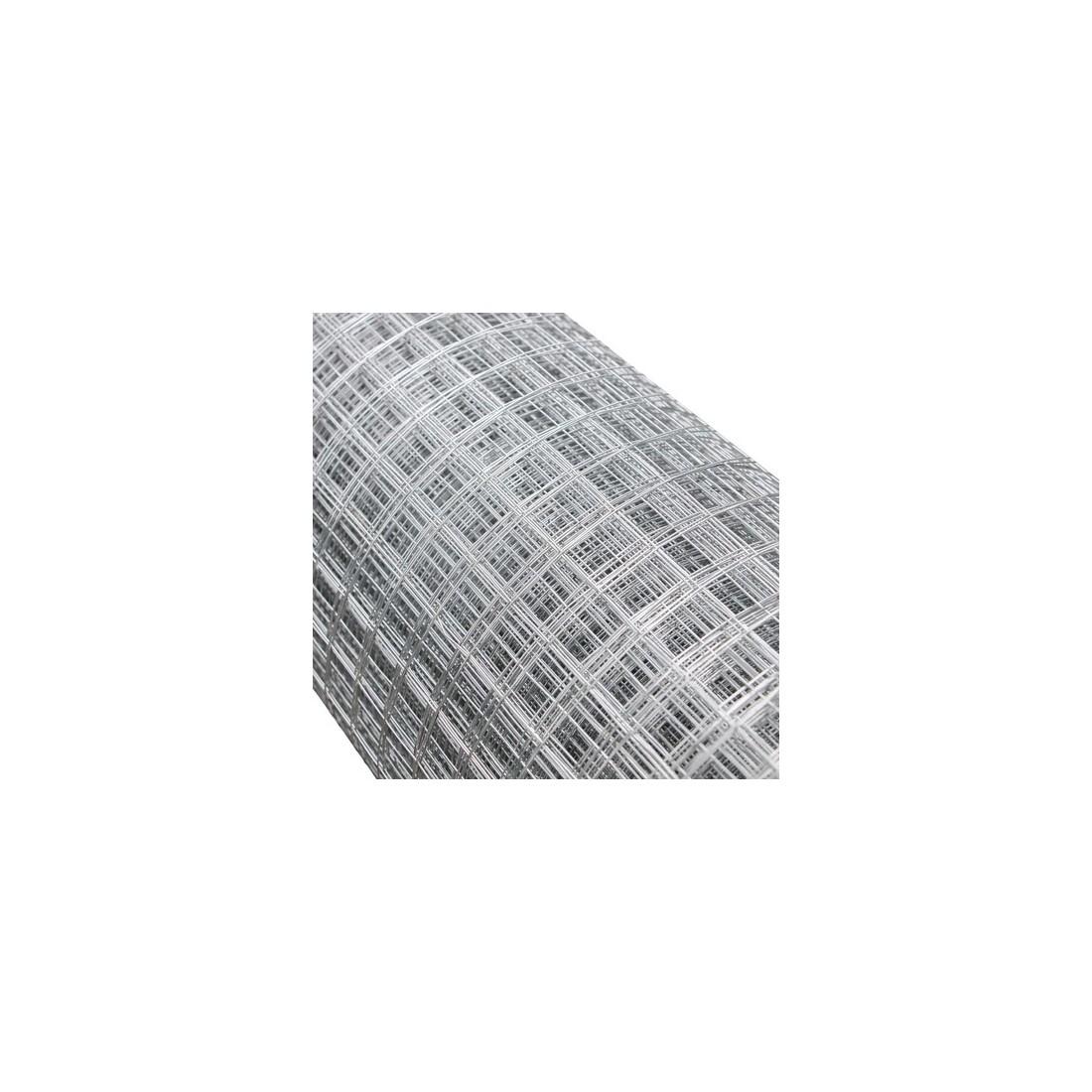 Rete metallica zincata rotolo 1.50 x 25