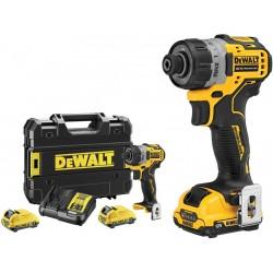 Dewalt dcf601d2-qw avvitatore a batteria 12v 2Ah
