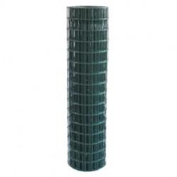 Rete metallica plastificata rotolo 1.80 x 25 metri maglie 75x50