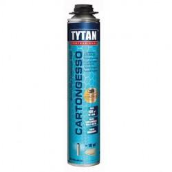 Schiuma adesiva per cartongesso tytan professional 840ml